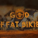 God of Fat bikies wallpaper – Mad Max font in photoshop